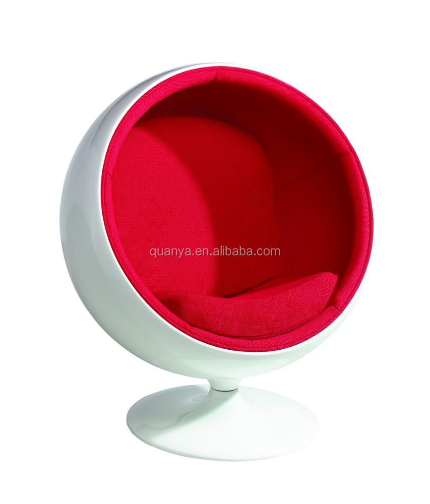 moderne woonkamer grappig ontwerp eero aarnio bubble stoel ...
