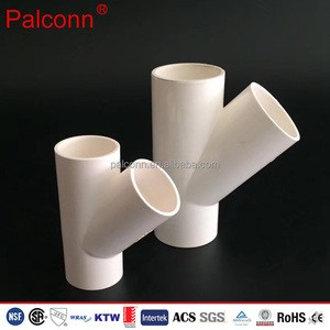 UPVC PVC Y Pipe Fitting PPR Pipes fittings ISO15874