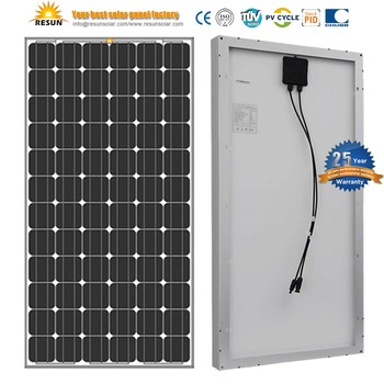 RESUN 72 Cells 190W 200W 210W Solar Cell Solar Panel Factory Direct Sale
