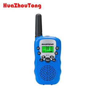 2X Walkie Talkie Baofeng T-3 Two Way Radio UHF 22CH LCD Screen For Kids