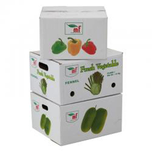 New Color Printed Mango Packaging Box With Handle