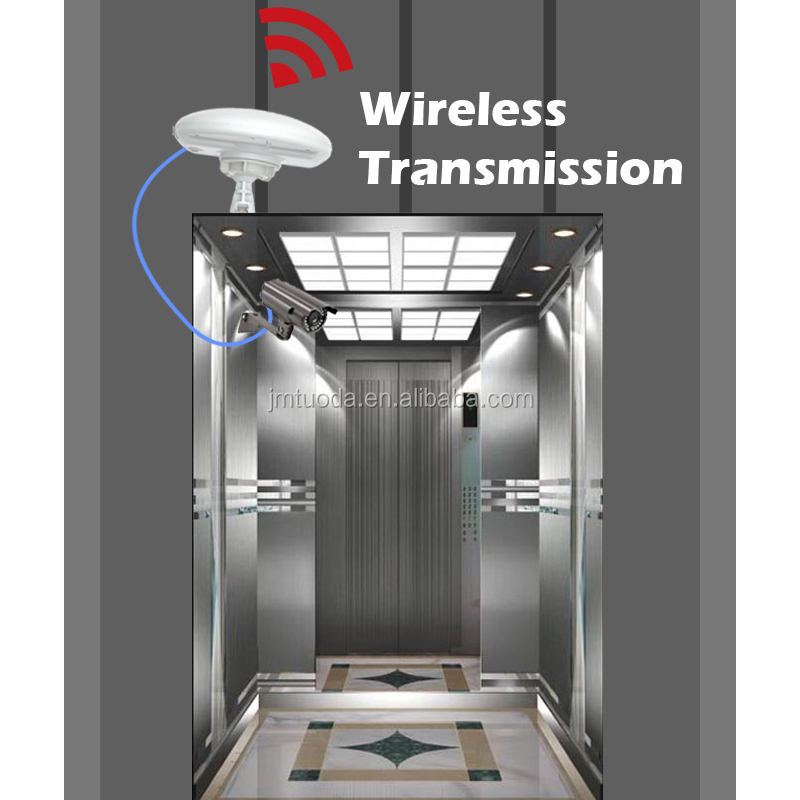 Plug and play Elevator Wireless CCTV Lift Security Monitoring IP Digital Camera