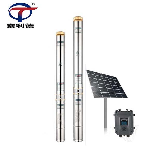 MPPT Controller Brushless AC DC Bore Solar Submersible Deep Well Water <strong>Pump</strong>