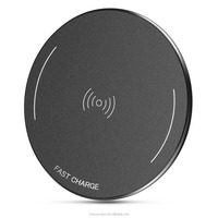 WP-01 High quality mobile wireless charger Qi approved wireless charger for iPhone 8