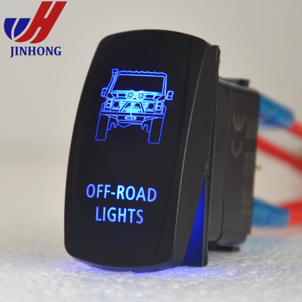 12v/24v Jeep Truck Rv Trailer Atv Boat Custom Cars Laser Etched ...