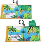 Cheap price eco-friendly child educational soft book baby first toy cloth