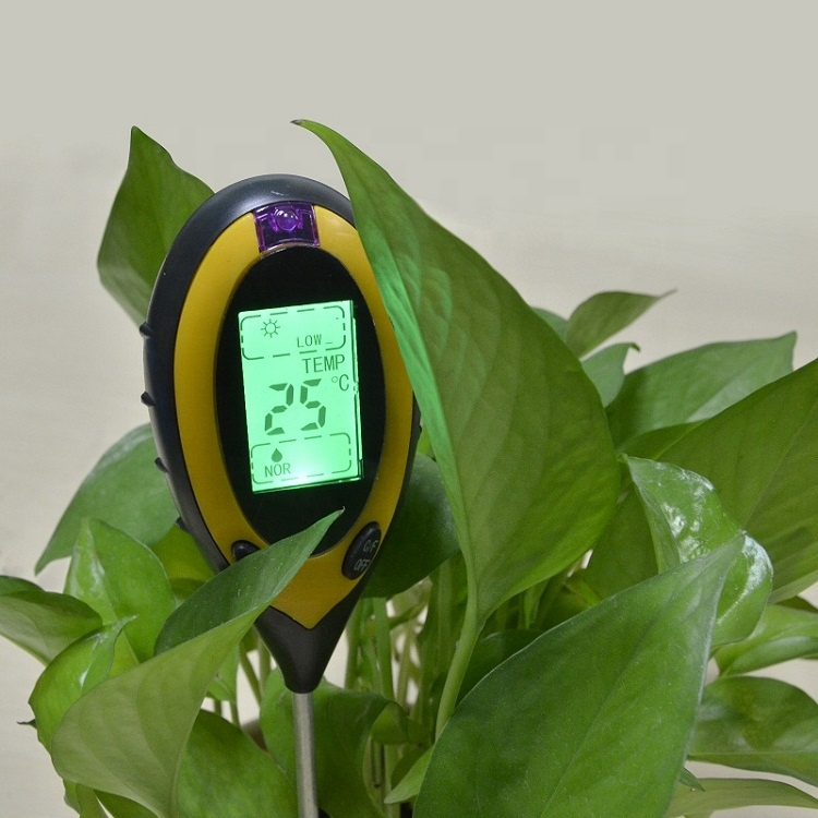 High quality 4 in 1 soil ph moisture <strong>meter</strong>