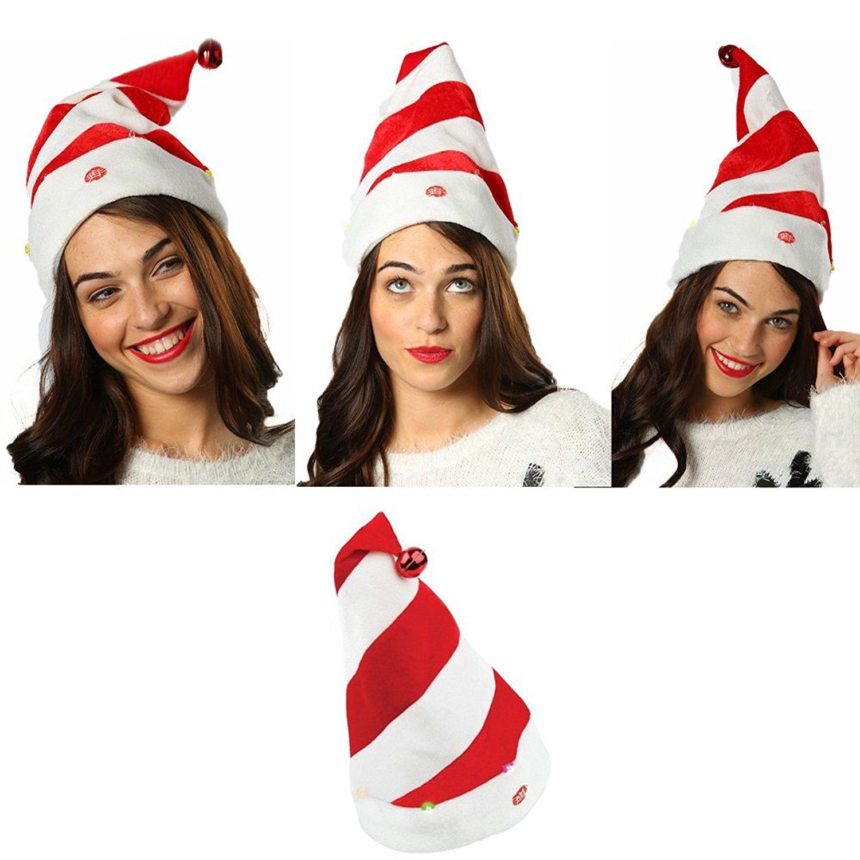 get quotations christmas cap big boys light up singing hat xmas singing cap one - Animals Singing Christmas Songs