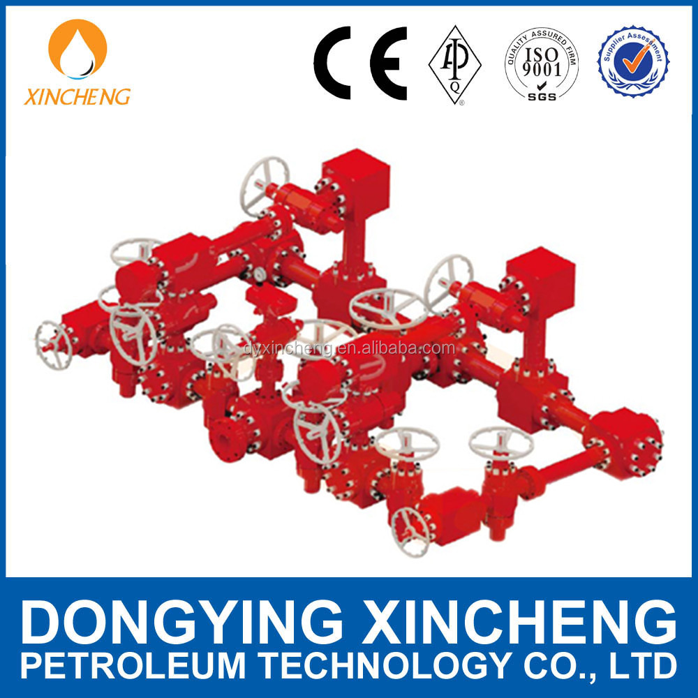 Oilfield Choke Manifold/kill manifold in drilling site From Factory