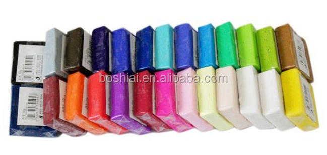 24 colors fimo clay 3d clay oven bake polymer clay EDUCATION