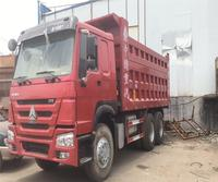 Second hand Sinotruk Howo 25t 6*4 8*4 tipper used condition 25t dump truck