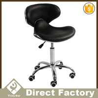 Modern appearance butterfly chairs adjustable relaxing chair with wheels