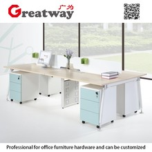 Wooden office furniture call center screen partition cubicles workstation for
