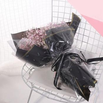 High quality cheaper unique design plastic flower wrapping sleeve