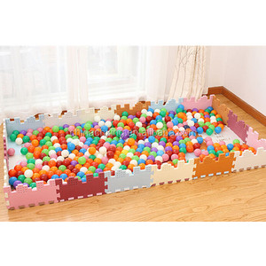 wholesale plastic ball pit balls with different sizes