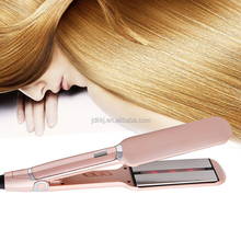 MCH Fast Heating Infrared Flat Iron Hair Straightener Professional 2 inch Hair Straightening Irons with Ceramic Plates