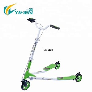 Steel Material 3 wheels new frog style tri scooter wholesale