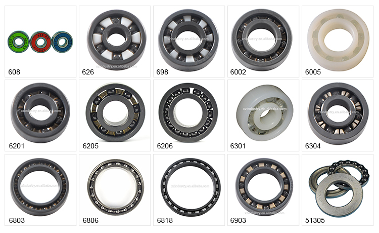 wholesale 16 series Inch size double row deep groove ball bearing 1616 2RS for sprag clutch