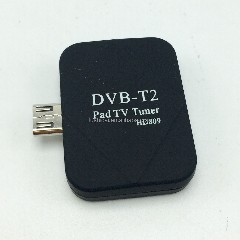 Factory wholesale DVB T2 Android TV Tuner Digital Receiver Mini USB dvb t2 pad tv tuner