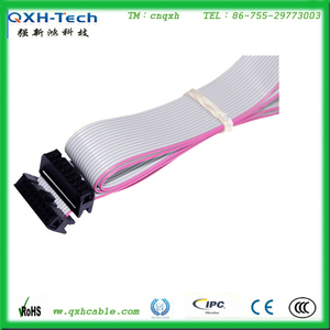 IDC 2*10PIN to DB25 Female Connector Flat Ribbon Cable