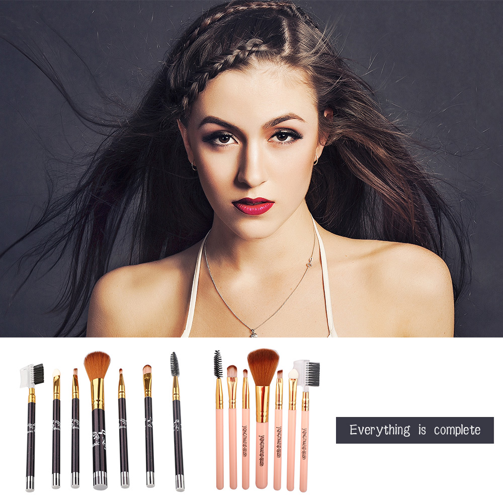 7pcs Private Label Professional Make up Brush Set