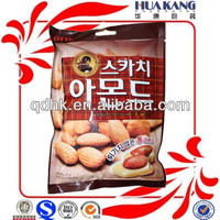 custom photo print punching candy packaging plastic bag
