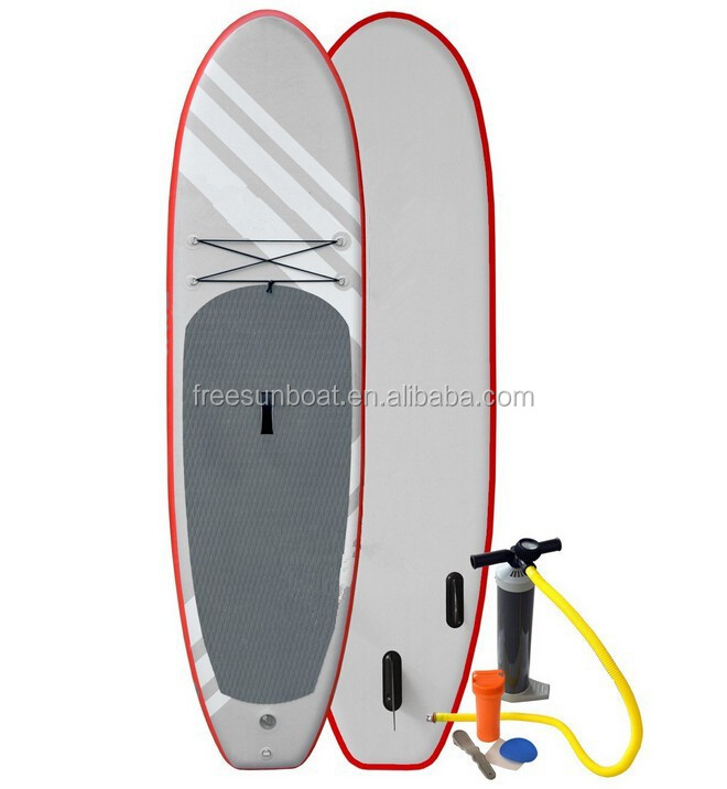 Super Durable Inflatable Stand Up Paddle Board with Pump and Aluminum Paddle