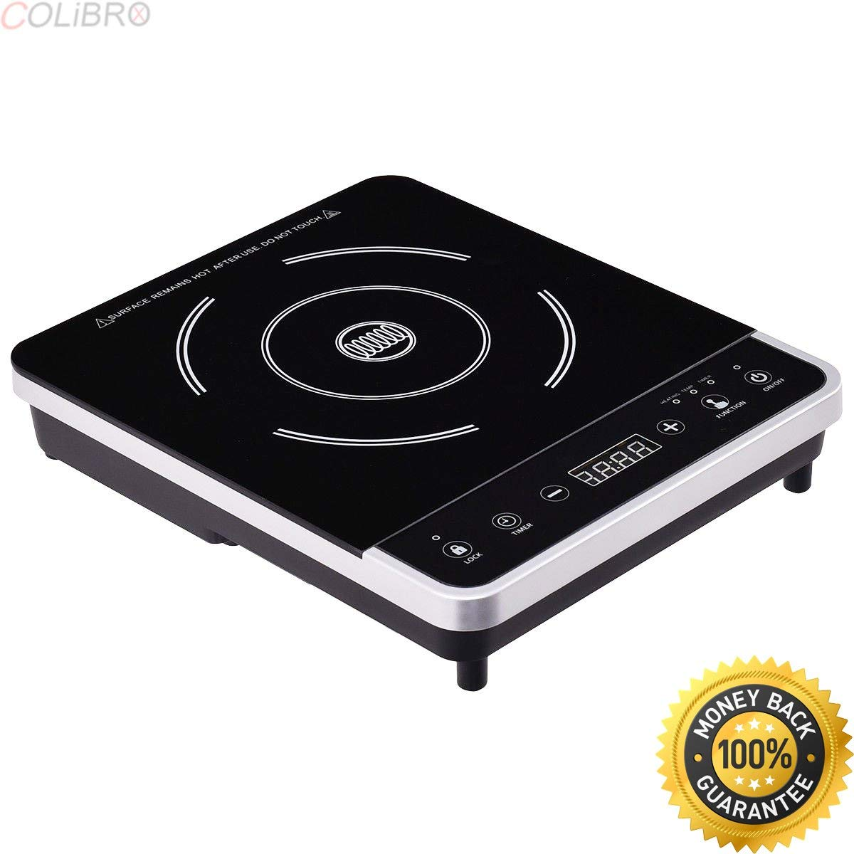 COLIBROX--Electric Induction Cooker Single Burner Digital Hot Plate Cooktop Countertop New. best portable induction cooktop consumer reports. induction cooktop pros and cons. target induction cooktop.