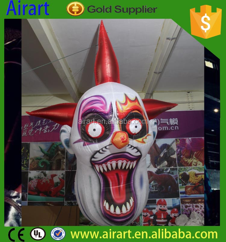 Hot Sale Clown Inflatable Latex Mask
