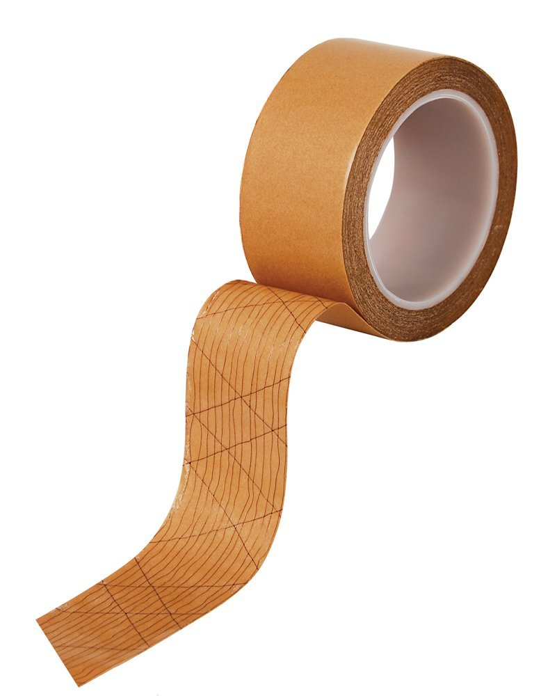 Double-Sided Acrylic Adhesive Strip Roll for Carpet , 75-Feet