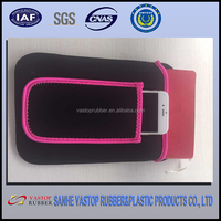 Good Quality Black Soft Neoprene Protect Pouch Skin Cover Case for mobilephone / ipad
