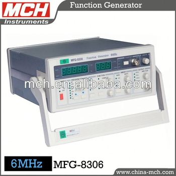 Mch Sweep Function Generator,Mfg-8306 Sweep Function Generator  6mhz,0 6hz-6mhz Frequency,Dual Display - Buy Sweep Generator,Sweep Function