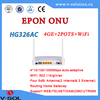New goods ftth fiber optic equipment network gepon onu with wifi wireless router chinese supplier