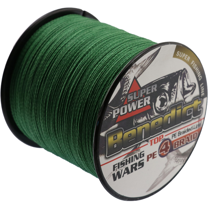 500M 4strands Japan Multifilament 100% PE supper strong Braided Fishing Line 6LB -100LB