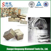 2000mm Universal diamond segments of saw blade