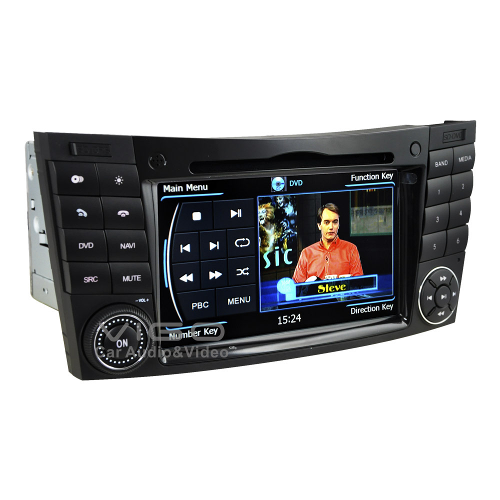 car stereo gps navigation for mercedes benz e class w211 e320 e500 clk cls dvd player multimedia. Black Bedroom Furniture Sets. Home Design Ideas