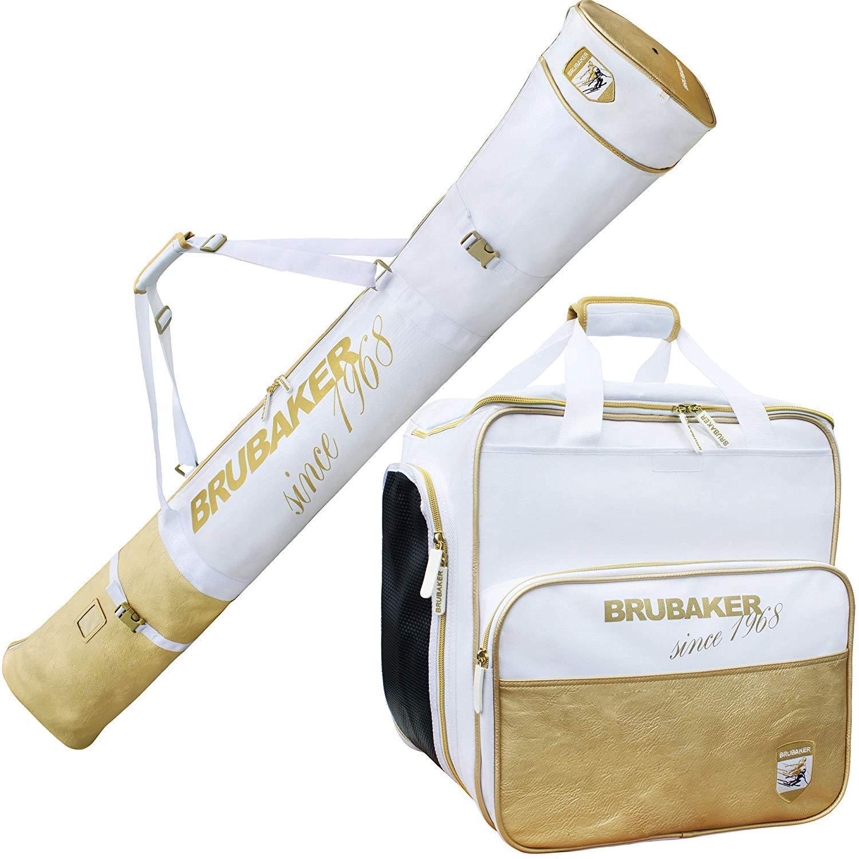 826c92e0b7 Get Quotations · BRUBAKER Combo Ski Boot Bag and Ski Bag for 1 Pair of Skis