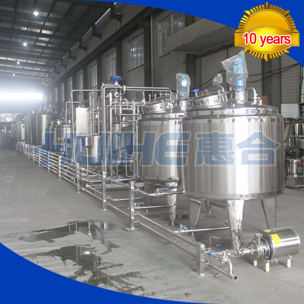 Turnkey Soybean Milk Making Processing Line
