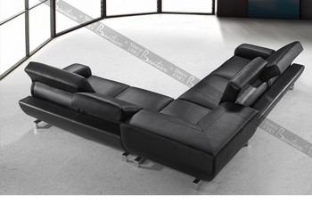 Modern Style Leather Sofa Circle Living Room Sofas Singapore Chesterfield