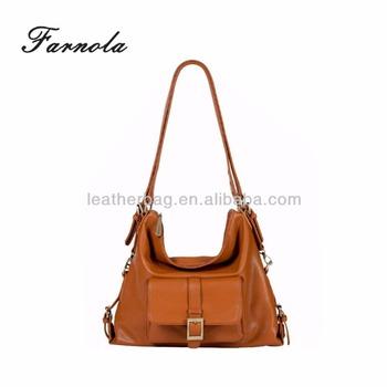 01423564f16c custom soft grain leather top selling western style teenager handbags