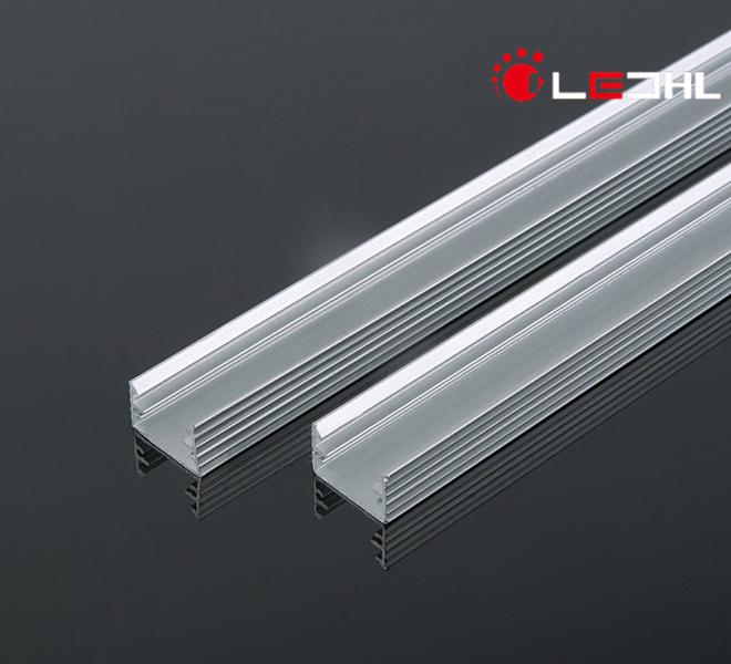 Recessed Heatsink Extruded For Led Rigid Strips Ceiling Wall Light aluminium Profile
