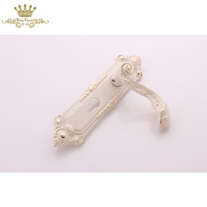 New design luxury fancy door handles zinc alloy house fancy door handles