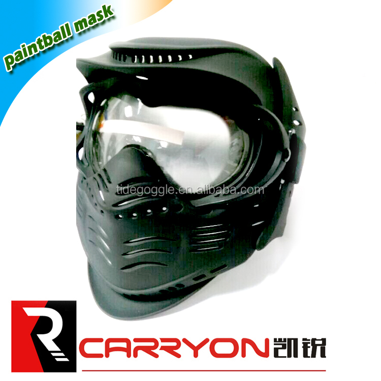 hot sale factory made military paintball mask protective safety airsoft mask