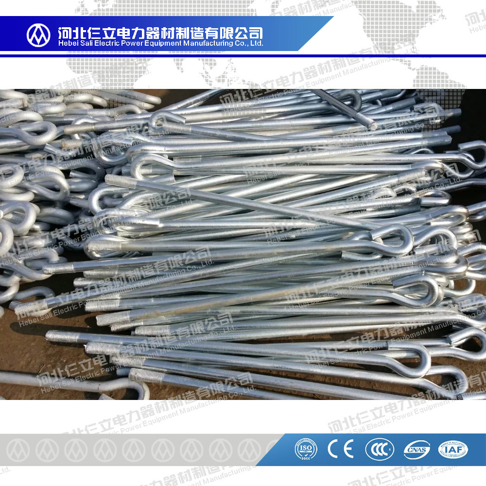 Hot-dip galvanized Foundation Bolt/Anchor Bolt/Holding Down Bolt