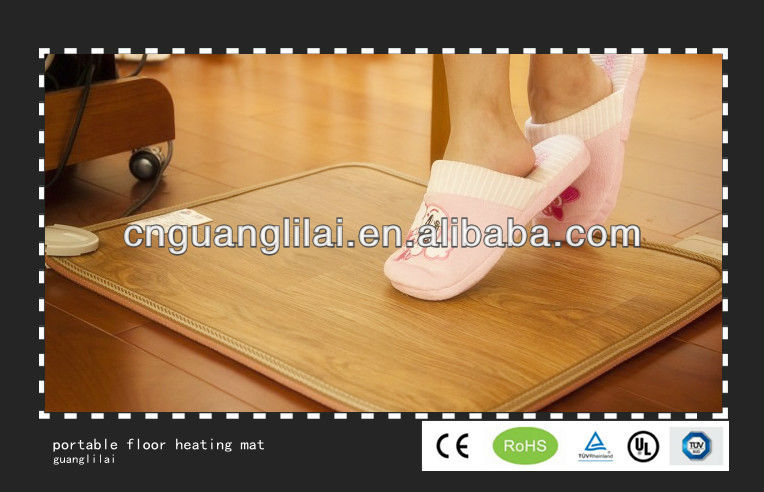 Carbon floor heating mat