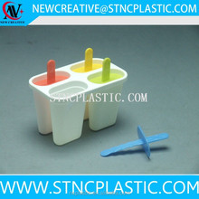 personalized plastic ice lolly mould stick with dividers