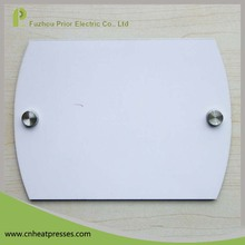 Prior New Design Cheap Heat Transfer Wood Dye Sublimation Blank MDF Door Plate For Sale