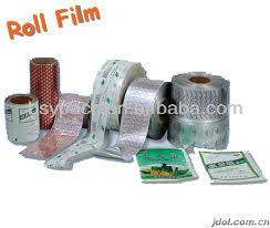 self adhesive holographic film roll