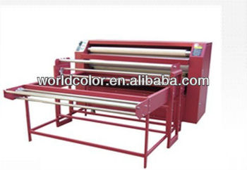 Roller Heat Transfer Machine Ce Approved For Hot Sale