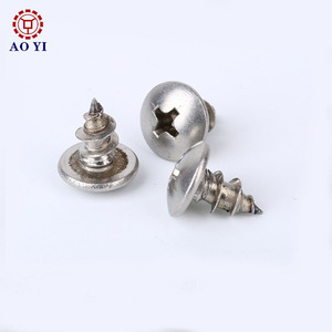 Best quality torx security screws with pin thumb for wood stainless square drive